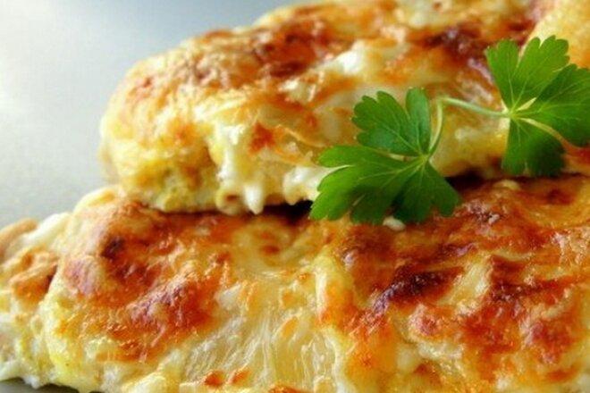 Куриная грудка с сыром по-царски