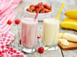 Молочный коктейль с ягодой «Малиновое лето»