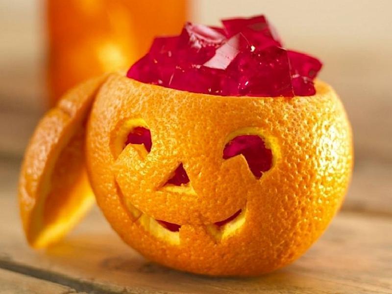 Апельсин с «мозгами»