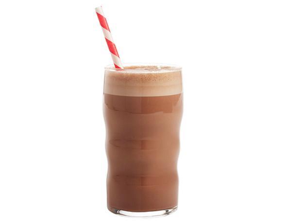 Молочный напиток с шоколадной пастой