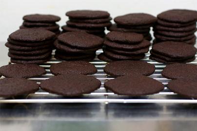 Печенье шоколадное (ваферы)